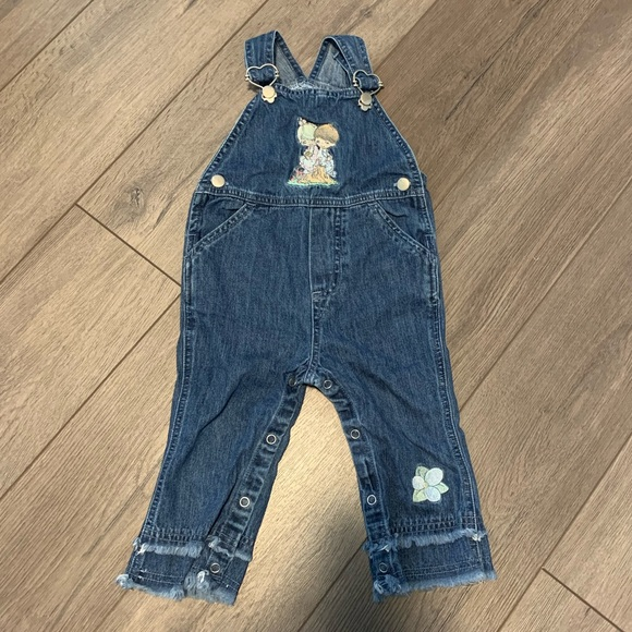 Precious Moments Girls Overalls
